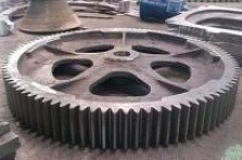 Gearwheel casting after machining