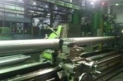 Screw machining, total length - 8500 mm, thread length - 4500 mm