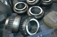 Bushings gear, tooth of high frequency currents.
