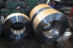 Billets of flanges. Steel SM41B