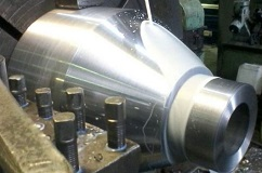 The nozzle of the burner. Prototype. Schlumberger